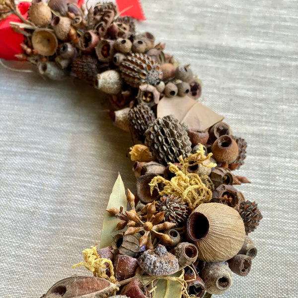 Native Bush Wreath - Available for Pre-Order
