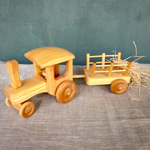 Debresk Big Tractor with Cart - Large