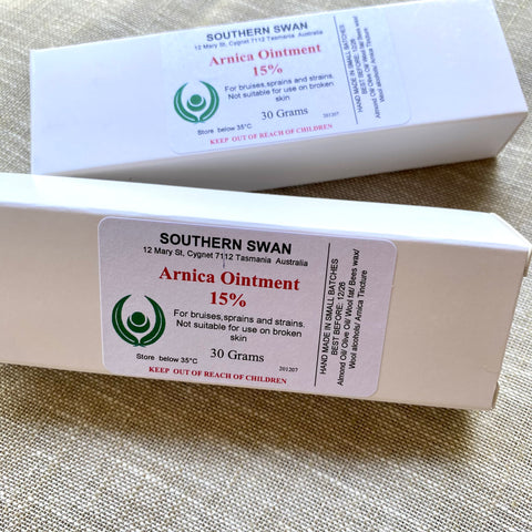 Southern Swan - Arnica Ointment, 30g tube