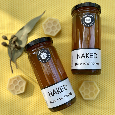 Naked Pure Raw Honey from Castlecrag, 340g