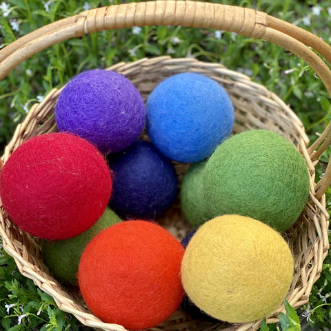 Ball, Wool Felt (Large 8cm)