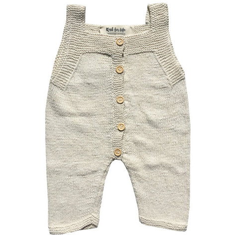 Onsie - 100% naturally grown soft cotton (Knit for Life)