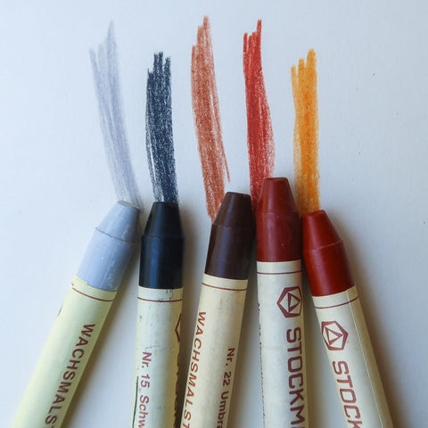 Stick Crayons, Beeswax - Stockmar, additional colours