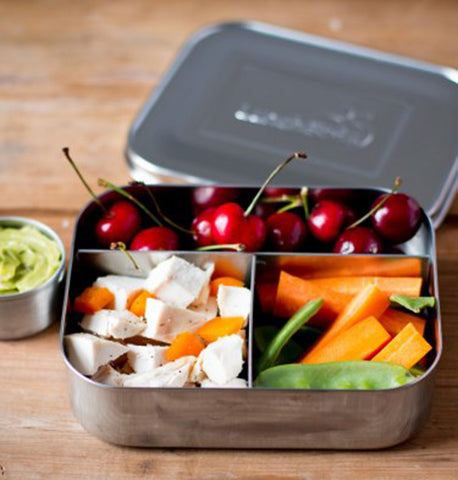 Lunchbots Stainless Steel Lunchbox - Trio