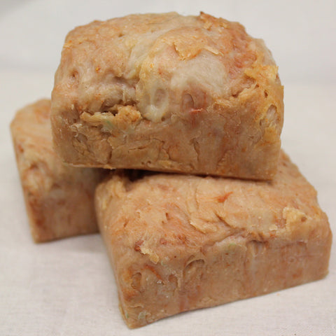 goat's milk soap - sandalwood, cedar wood, vanilla and orange