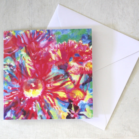 Gum Blossom Greeting Card & Envelope