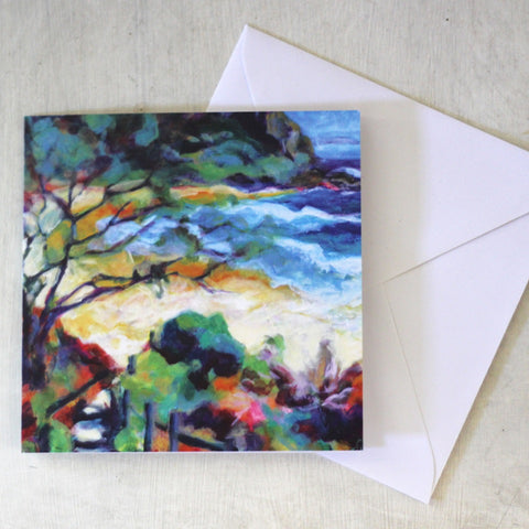 Card & Envelope - Little Beach