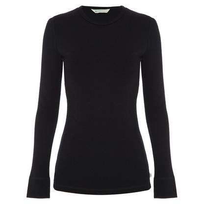 Women's Merino Wool Long-Sleeved Crew Top (PRE-ORDER)
