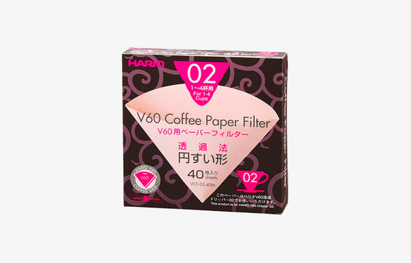 Hario V60-02 Paper Filters (40 Pack)
