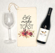 Make a Toast Wine Bag