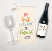 Best Gifts Liquid Form Wine Bag