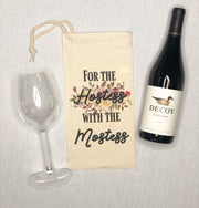 Hostess With the Mostess Wine Bag