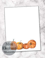 Pumpkin Group Notepad