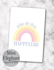 Wake up your Happiness Notepad