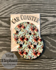 Boho Floral Car Coaster Wholesale