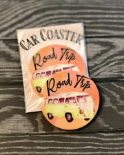 Road Trip Car Coaster