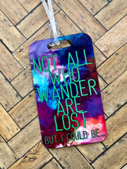Lost Luggage Tag