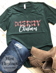 Merry Christmas Buffalo Plaid Wholesale