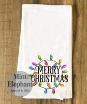 Merry Christmas Lights Towel Wholesale