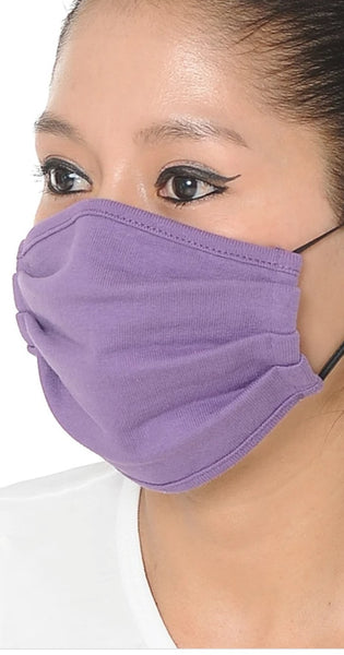 Face coverings in black, grey, green, purple, oxford blue, pacific blue & white