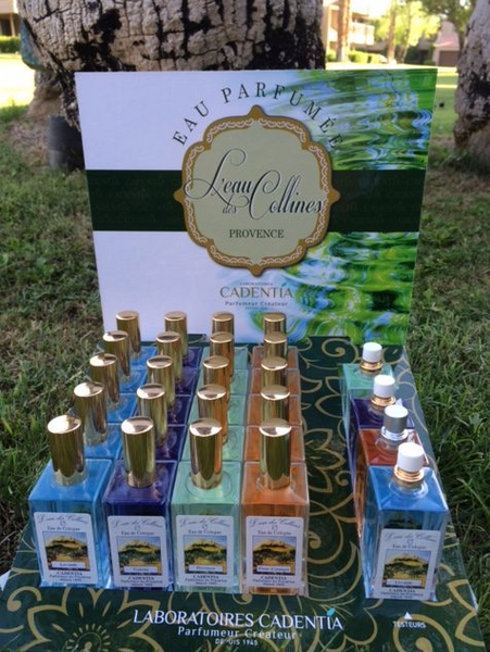 Eau des Collines ... in lavender, provence, and vetiver ... made in France