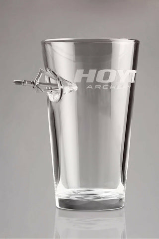 Hoyt Tagged Out Pint Glass