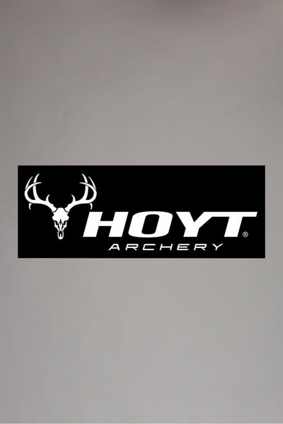 Classic Skull Hoyt Decal