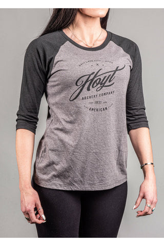 Ladies Black Forest 3/4 Raglan Hoyt Tee