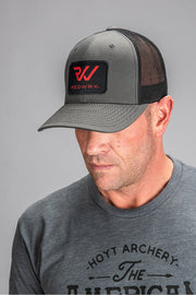 Black and Gray REDWRX Hoyt Hat