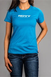 Ladies Hoyt Logo S/S Tee