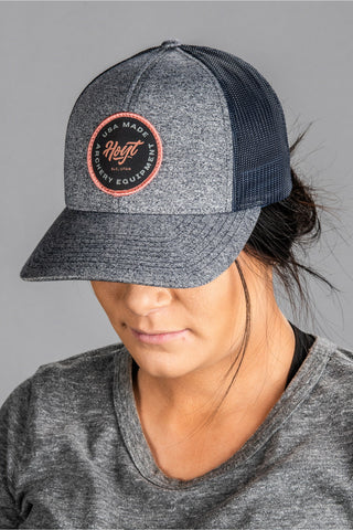 Ladies Navy Heather Hoyt Hat (by Richardson)