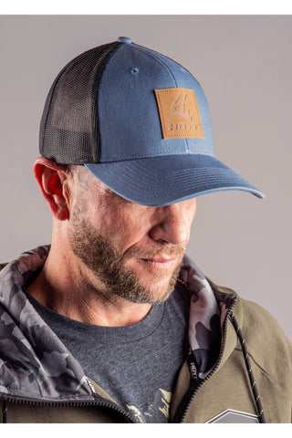 Leather Tine Hoyt Cap