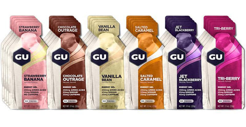 Gu Energy Gel Mixed Box