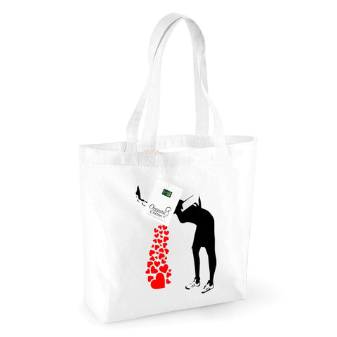 Love Sick Organic Shopping Bag