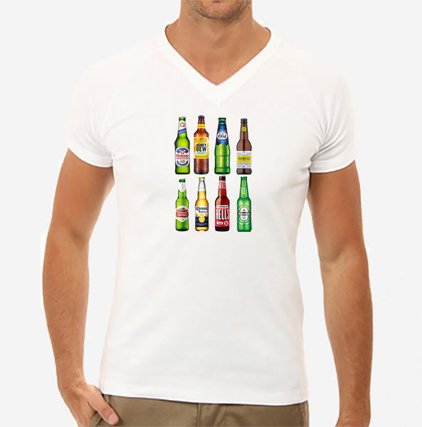 Beer Bottles T Shirt