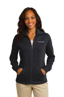 Port Authority - Ladies Slub Fleece Full-Zip Jacket