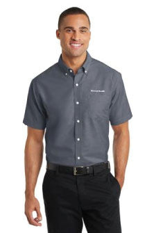 Port Authority - Short Sleeve SuperPro Oxford Shirt with Pocket