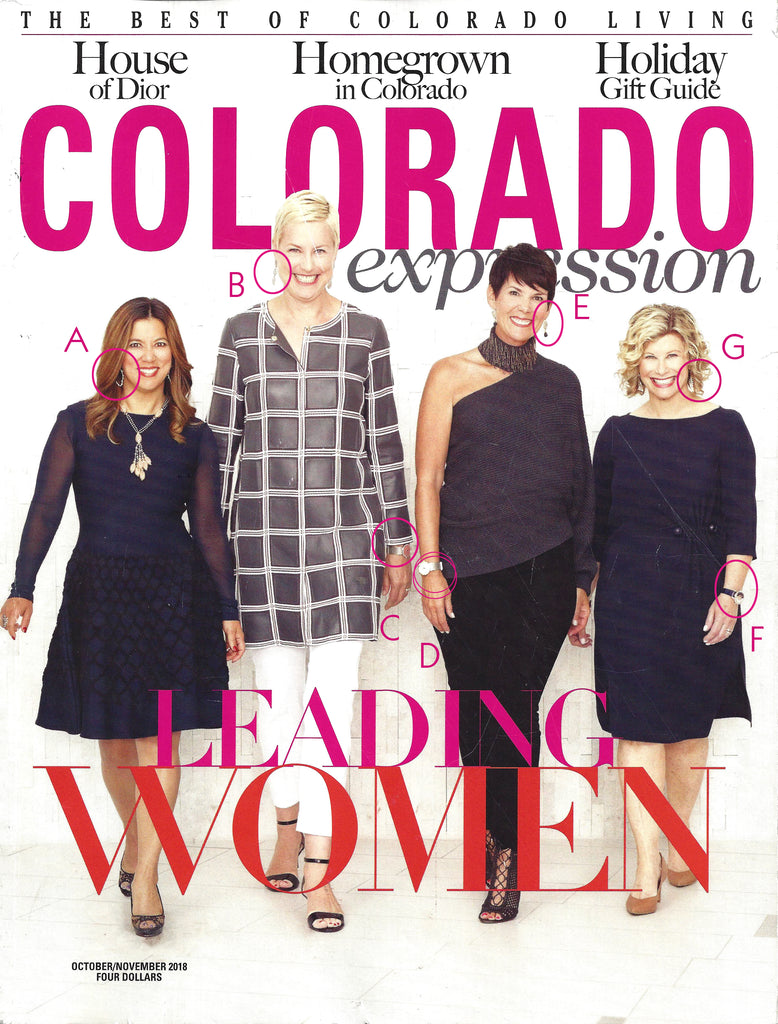 Shop the Cover of Colorado Expressions Jewelry By Oster Jewelers of Cherry Creek North