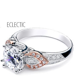 Parade Design's Eclectic Diamond Engagement Rings and Wedding Bands at Oster Jewelers