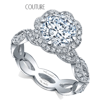 Katharine James Couture Designer Diamond Engament Rings and Diamond Wedding Bands at Oster Jewelers