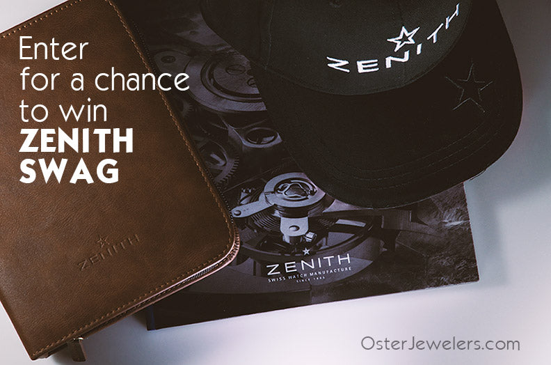 Enter to for a Chance to Win Zenith Swag