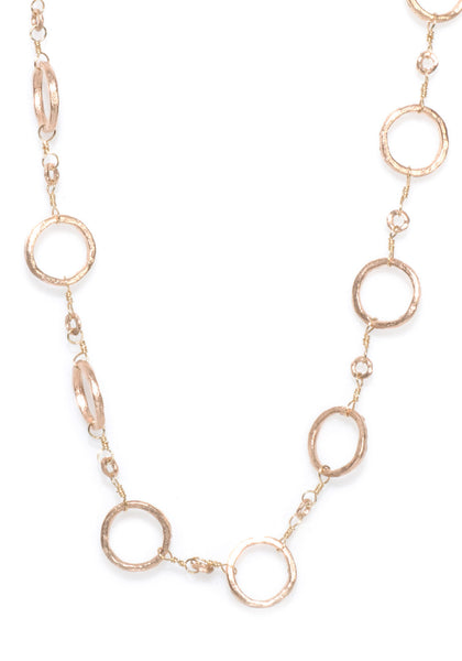 Dominique Cohen Rose Gold Chain Necklace
