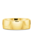 Precision Set Yellow Gold Band