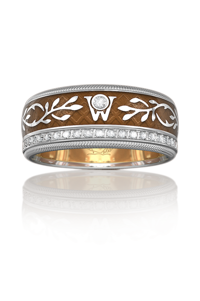 Wellendorff Diamond Chocolate Angel Ring