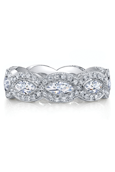 Katharine James Bella's Love Marquis & Pave Band