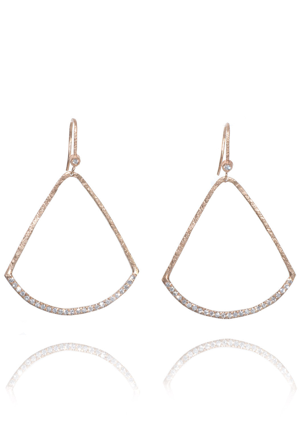 Dominique Cohen Diamond Teardrop Earrings