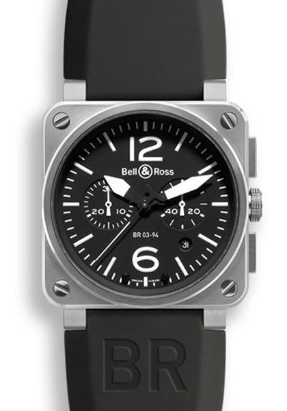 Bell & Ross BR03-94 Steel Black Dial 42mm