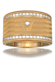 Wellendorff Diamond Angel's Hair Ring