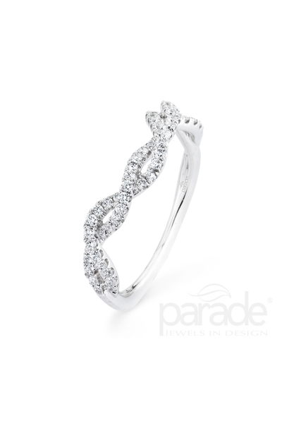 .27ctw Curved Diamond Braided Band
