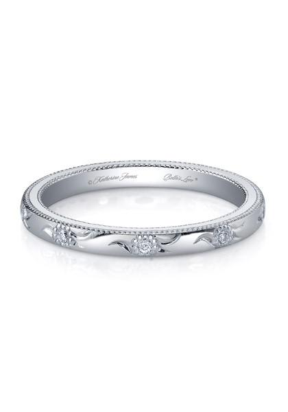 Katharine James Diamond Platinum Bella Fleur Band